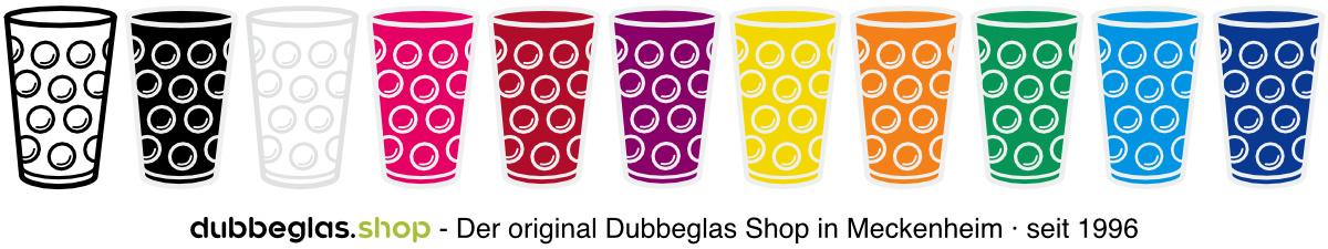 Dubbeglas Aufkleber und Sticker in verschiedenen Farben
