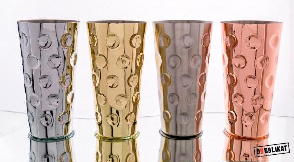Pfälzer Gral Dubbebecher - Dubbeglas aus Metall