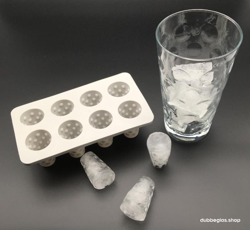 Dubbeglas Eiswürfel Set - 2 Stück