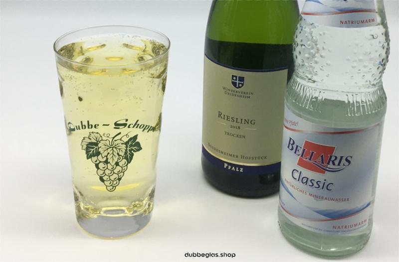 Pälzer Dubbe Schoppe - Dubbeglas 0,5 L