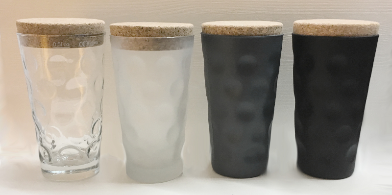 Dubbeglas Vorratsglas 0,5 L