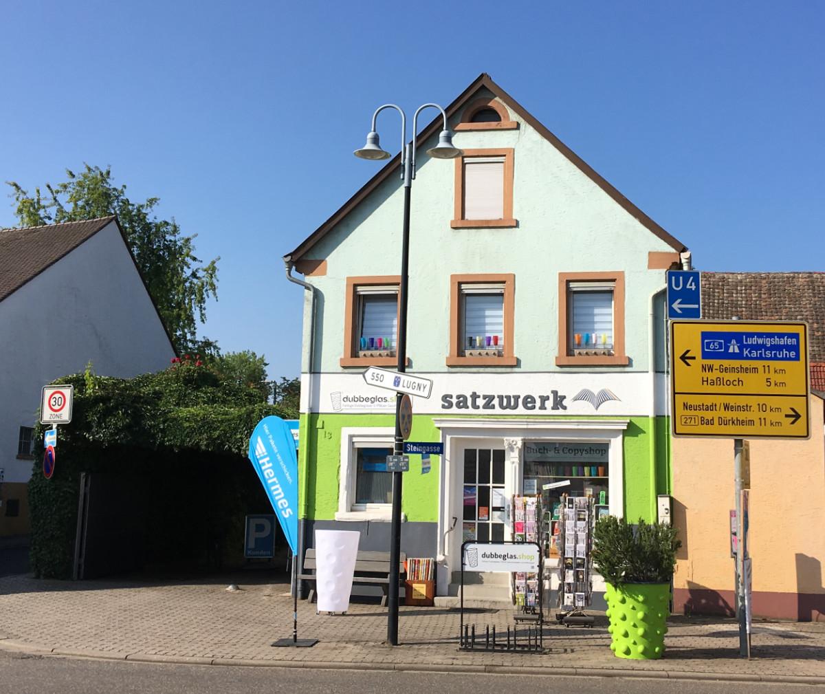 Der Dubbeglas Shop in Meckenheim