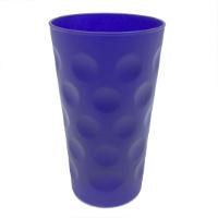 Blau Matt Dubbeglas 0,5 L