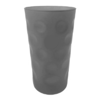 Grau / Anthrazit Matt Dubbeglas 0,5 L