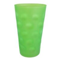 Grün Matt Dubbeglas 0,5 L
