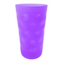 Lila / Violett Matt Dubbeglas 0,5 L