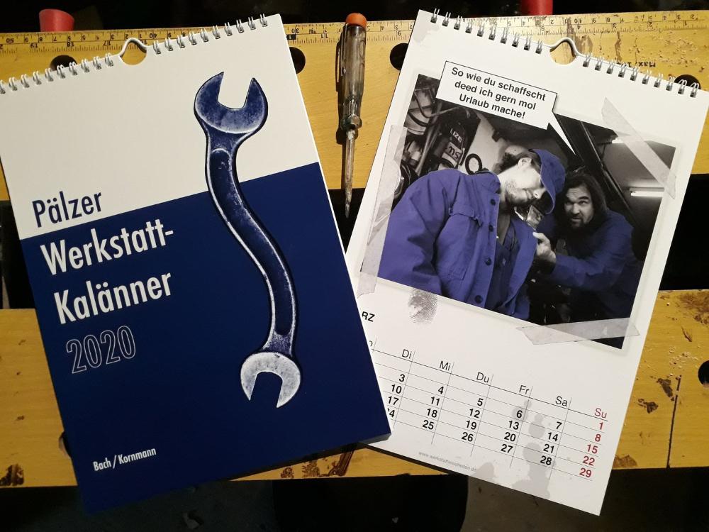 Der Pfälzer Werkstatt Kalender