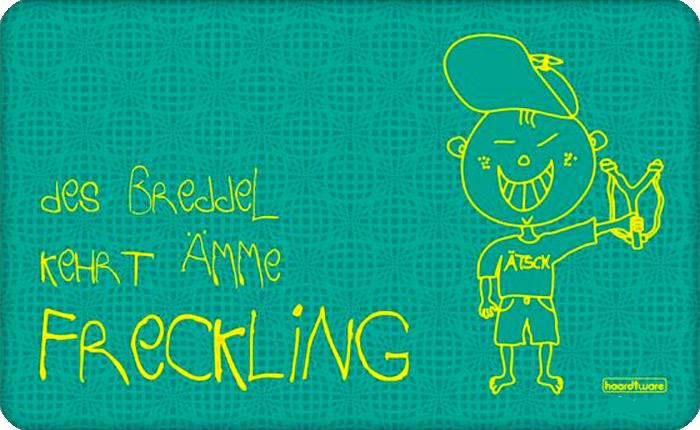Freckling Frühstücksbrettchen