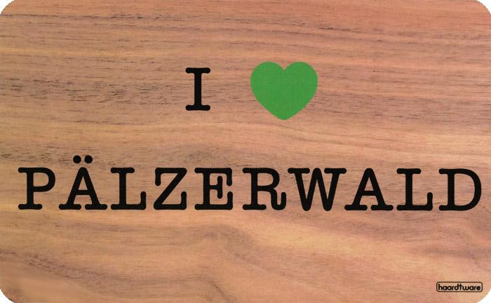 I love Pfälzerwald Frühstücksbrettchen