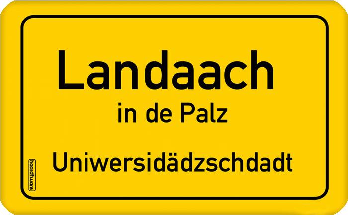 Landau in der Pfalz Frühstücksbrettchen