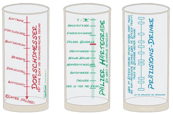 Pfälzer Dorschdmesser Schoppenglas 0,5 l