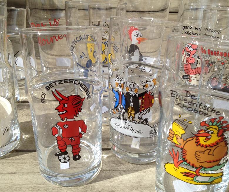 Knickschoppen - Das Schoppenglas mit dem Knick