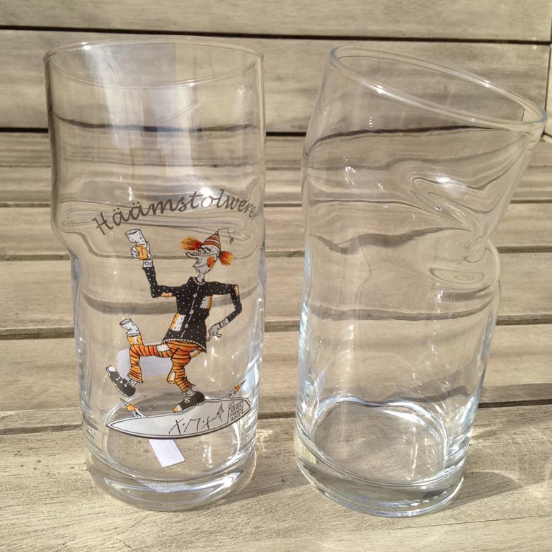 Der Häämstolwerer - Knickschobbe, Schoppenglas
