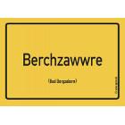Bad Bergzabern - Berchzawwre Aufkleber