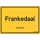 Frankenthal - Frankedaal Aufkleber