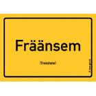 Freinsheim - Fräänsem Aufkleber