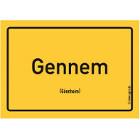Gönnheim - Gennem Aufkleber