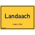 Landau (Pfalz) - Landaach Aufkleber