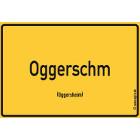 Oggersheim - Oggerschm Aufkleber