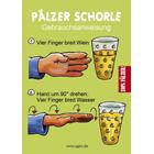 Pfälzer Schorle - Aufkleber