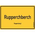 Ruppertsberg - Rupperchberch Aufkleber