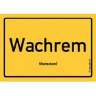 Wachenheim - Wachrem Aufkleber