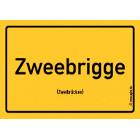 Zweibrücken - Zweebrigge Aufkleber