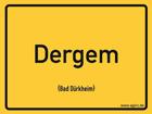 Bad Dürkheim - Ortsschild Magnet