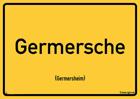 Germersheim - Ortsschild Magnet