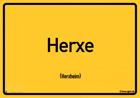Herxheim - Ortsschild Magnet