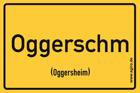 Oggersheim - Ortsschild Magnet
