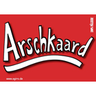 Arschkaard - Pfälzer Sprüche - Postkarte