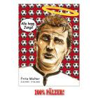 Fritz Walter - 100% Pälzer Postkarte
