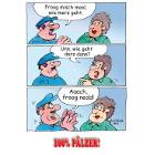 Froog misch mool - 100% Pälzer Postkarte