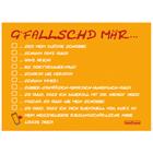 G'fallschd mär... - Pfalz Postkarte