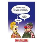 Hälft vun de Pälzer - 100% Pälzer Postkarte