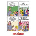 Katzenberger- 100% Pälzer Postkarte