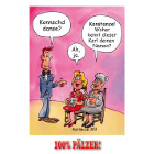 Konschdanze - 100% Pälzer Postkarte