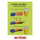 Pfälzer Schorle Gebrauchsanweisung - Postkarte