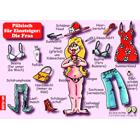 Pfälzisch für Einsteiger: Die Frau -Postkarte