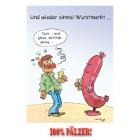 Wurstmarkt - 100% Pälzer Postkarte