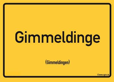 Postkarte Mandelbütenfest in Gimmeldingen