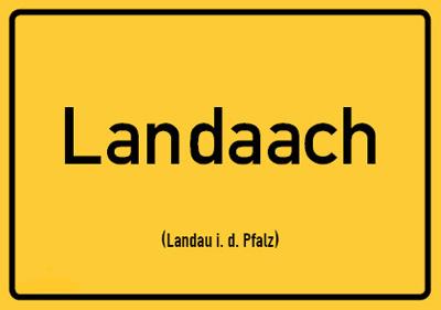 Landau Postkarte