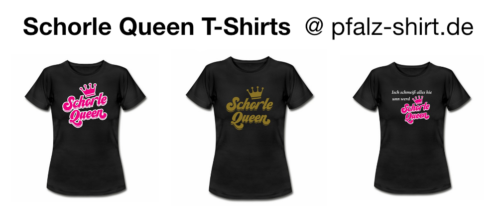 Schorle Queen T-Shirts