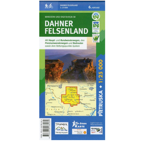 dahner felsenland wanderkarte