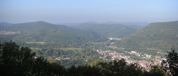 Wasgau Wanderkarte, östlicher Teil