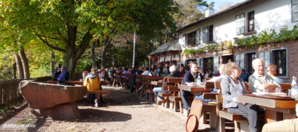 Wanderhütten in der Pfalz und Pfälzerwald